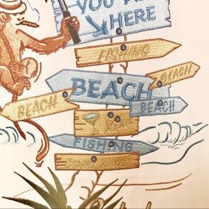 """Copyrighted Print """"You are here - Fishing Beach.."""""""